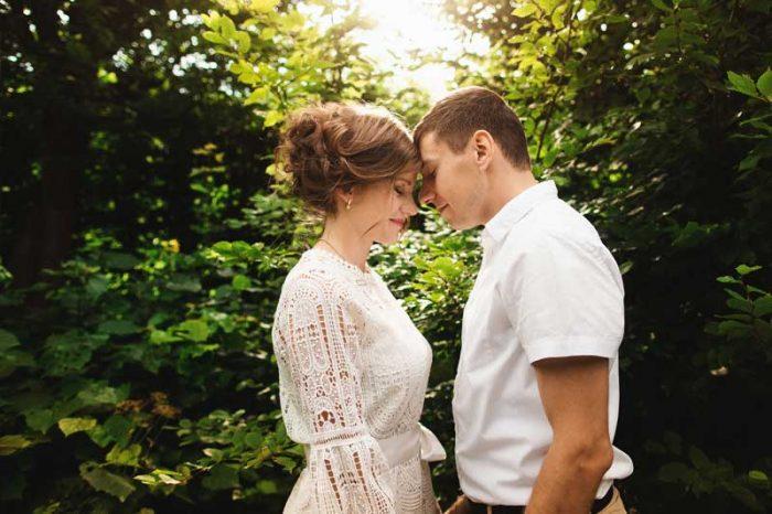 4 Hochzeitstag Bilder - Schlicht & einfach Liebe!
