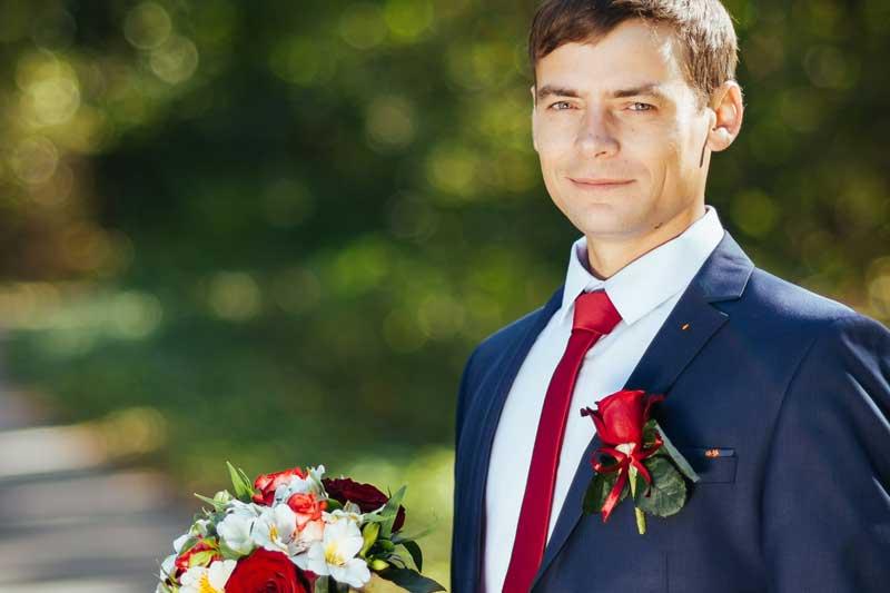Bräutigam Hochzeitspaar Fotos Outdoor Fotoshooting