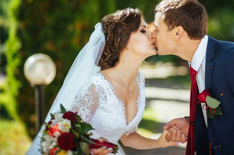 Hochzeitspaar Fotos - Outdoor Fotoshooting im Sommer