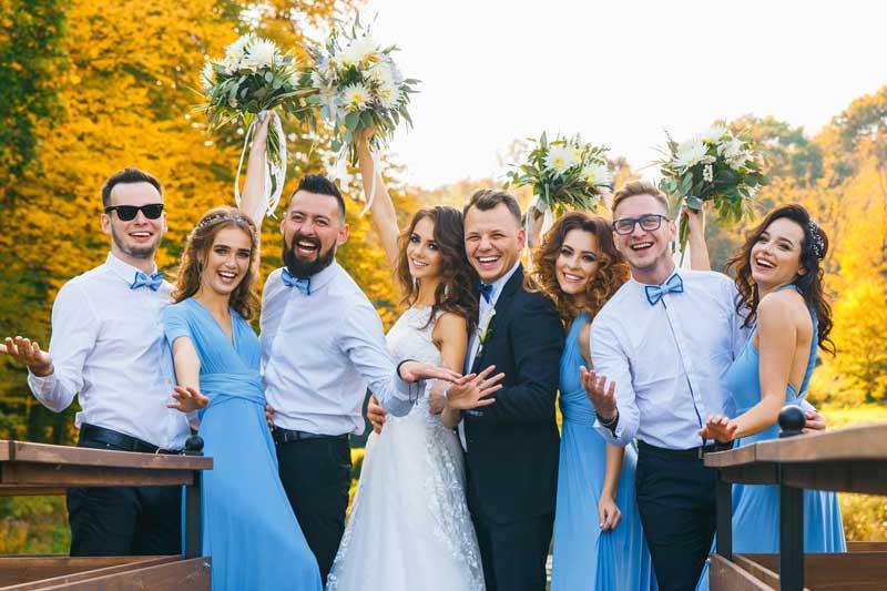 Lustige Hochzeitsbilder / Hochzeitsgäste Fotos