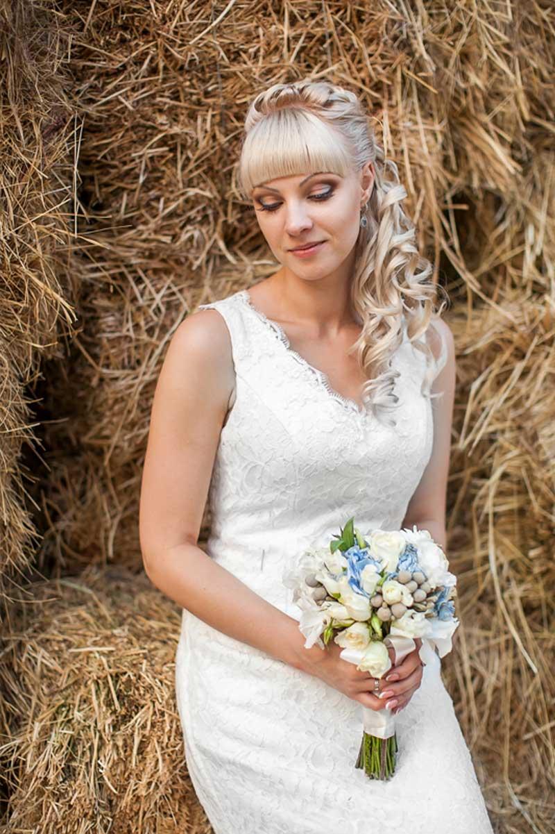 Hochzeitsfotos Ideen. Hochzeitsbilder Outdoor / Bauernhof